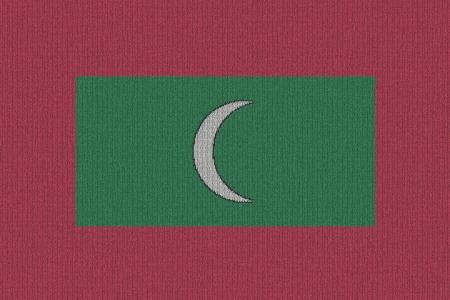 니트 몰디브 국기