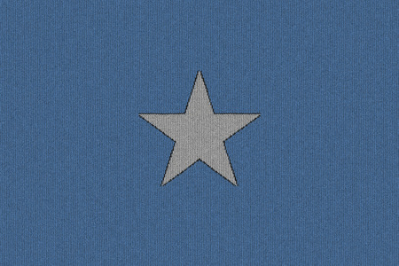 somalia: Knitted Somalia flag