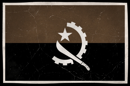 old flag: Old flag of Angola