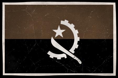 angola: Old flag of Angola