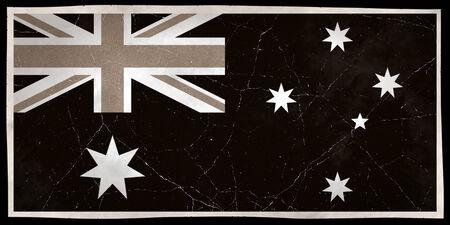 Old flag of Australia