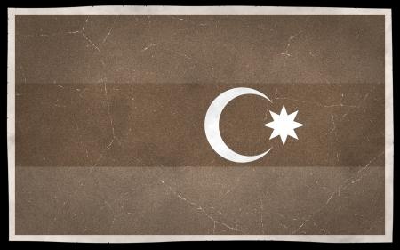Old flag of Azerbaijan Stock fotó