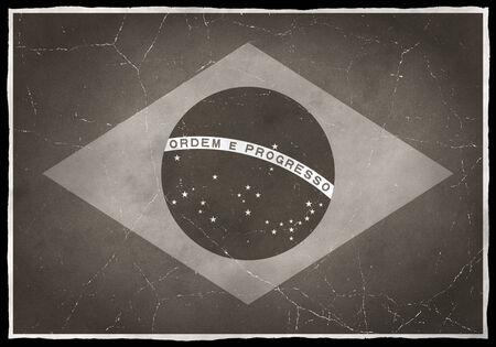 Old flag of Brazil