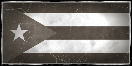 old flag: Old flag of Cuba