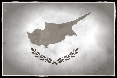 Old flag of Cyprus