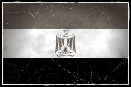 Old flag of Egypt Stock fotó