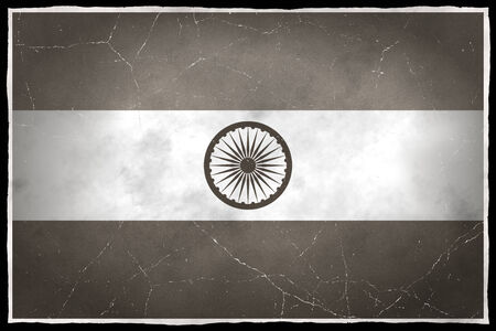 Old flag of India