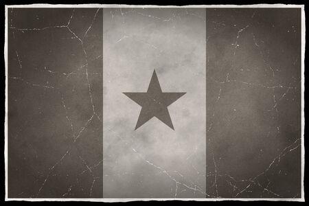 Old flag of Senegal