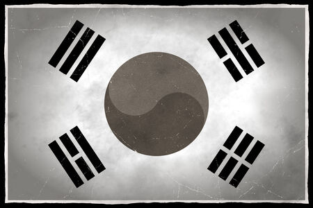 Old flag of South Korea