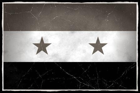 Oude vlag van Syrië