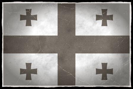 Old flag of Georgia