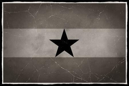 Old flag of Ghana