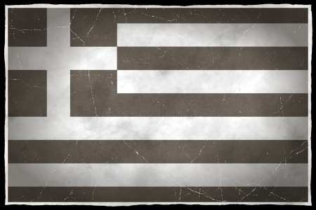 Old flag of Greece