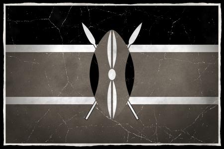 Old flag of Kenya
