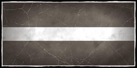 Old flag of Latvia