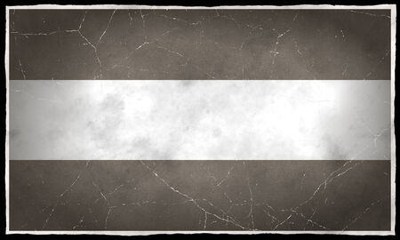 old flag: Old flag of Luxembourg Stock Photo