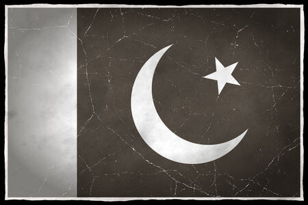 old flag: Old flag of Pakistan