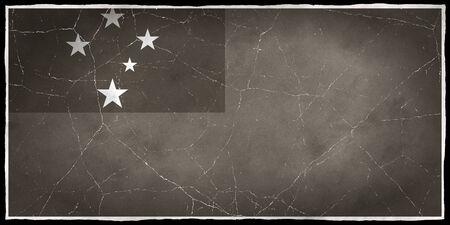 samoa: Old flag of Samoa