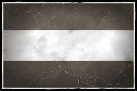 Oude vlag van Nederland Stockfoto