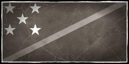 solomon: Old flag of the Solomon Islands
