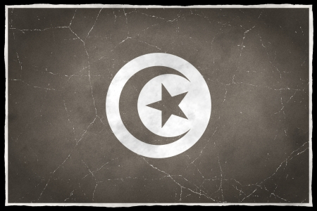 old flag: Old flag of Tunisia