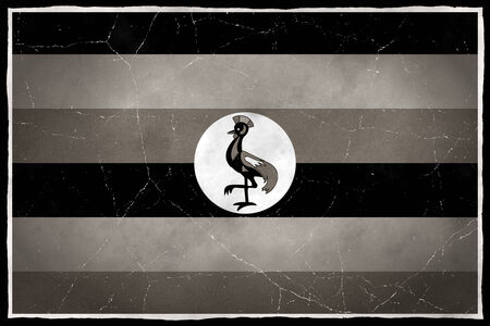 Old flag of Uganda