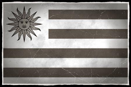 Old flag of Uruguay Stock fotó