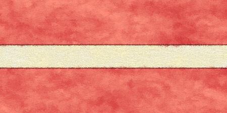 Latvia flag on ageing paper 版權商用圖片