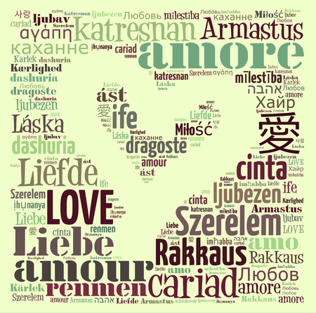 feel affection: Love Text Nube