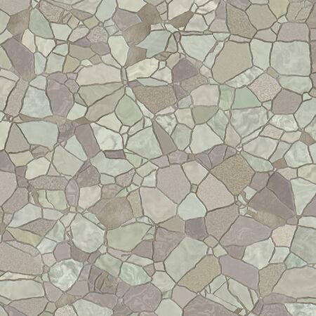 Broken Mosaic Tiles