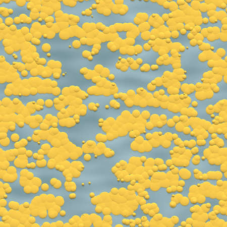 Cartoon Clouds Pattern Design Reklamní fotografie