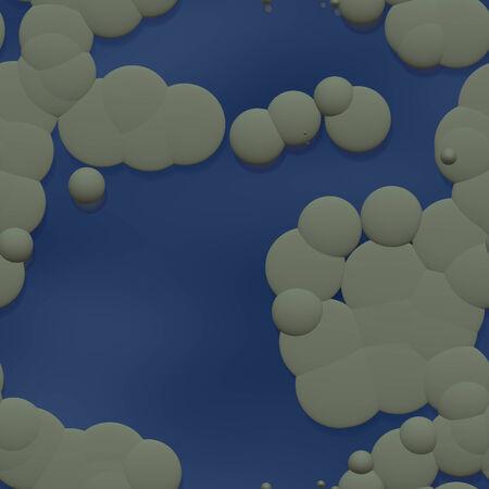 nubes caricatura: Nubes de dibujos animados de fondo Foto de archivo