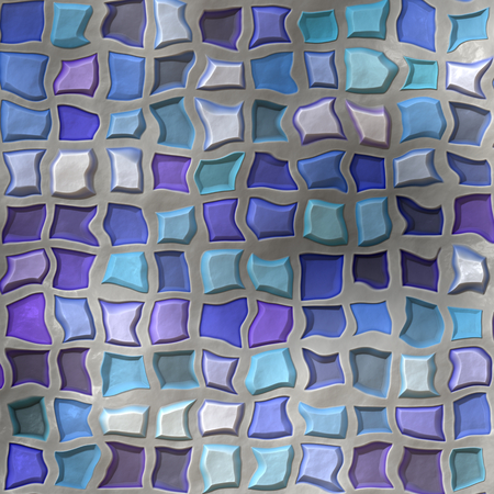 Distorted Tiles Background