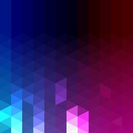 Abstract geometric triangle pattern Stock Photo