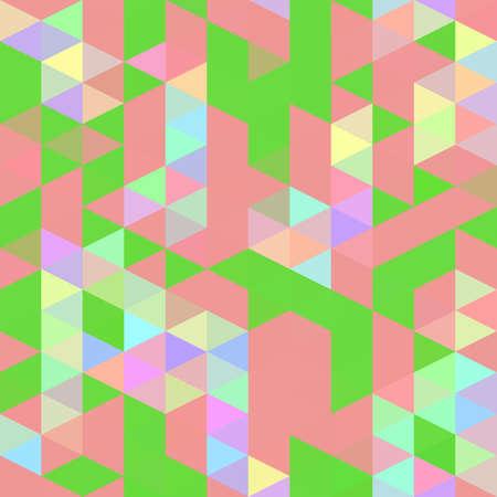 Abstract geometric triangle pattern Banco de Imagens
