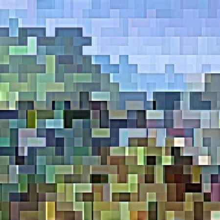抽象図形の背景