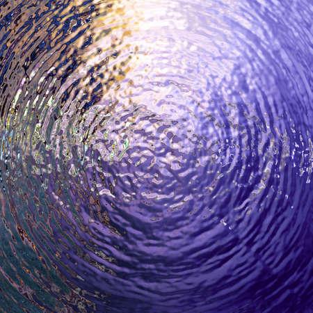 water rimpelingen behang patroon Stockfoto