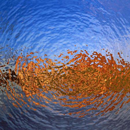 Water rimpelingen behang patroon Stockfoto - 28947165