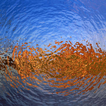 water ripples wallpaper pattern Фото со стока - 28947165