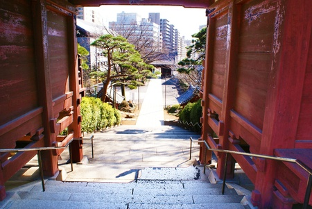 Temple in Japan Stock Photo
