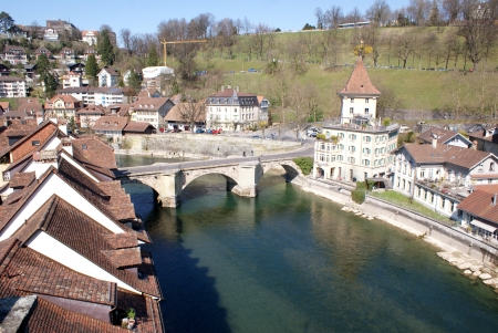View of Bern, Switzerland Stock Photo