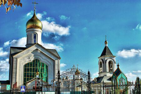 volgograd: The Orthodox parish of St  Sergius of Radonezh Stock Photo
