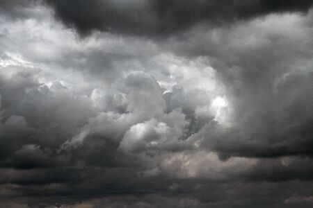 inclement weather: Storm clouds before rain