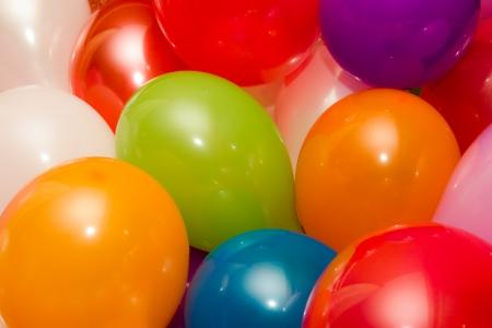 Antecedentes de globos de colores Foto de archivo - 23017058