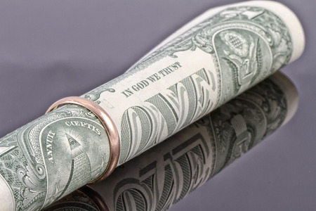 reflectivity: One dollar engagement ring