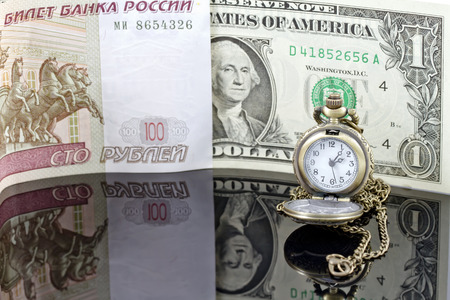 weakening of the ruble exchange rate to the dollar photo
