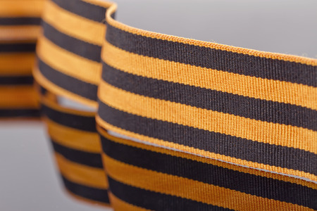 honorable: Black color ribbon means smoke and orange flame. The St. George ribbon is a most honorable place among the numerous group awards (differences) of the Russian army.