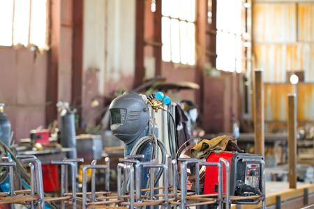 soldadura: Trazar planta de soldadura semiautomática para la colección de estructuras de acero modulares