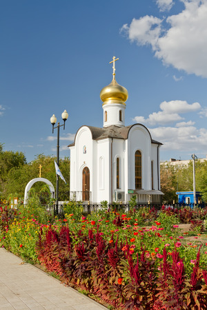 righteous: temple of the Holy righteous Admiral Theodore Ushakov, Admiral of the Russian fleet Editorial