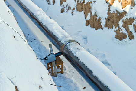 radiographic: radiographic control of welded joints of pipelines in winter conditions